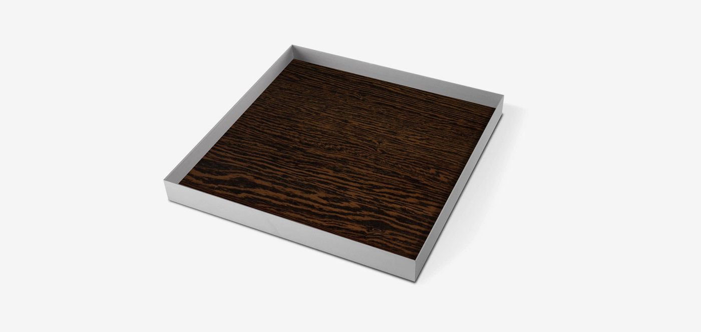Aluminium Tray Wood